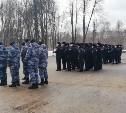 В Туле состоялся гарнизонный развод нарядов Росгвардии и полиции