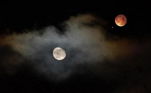 14 июля туляки смогут увидеть редкое явление – «соединение» Луны и Марса