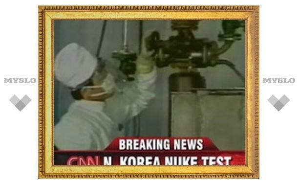 Северная Корея провела ядерные испытания