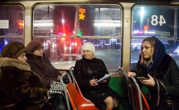 В новогоднюю ночь тульский городской транспорт будет работать до четырех утра