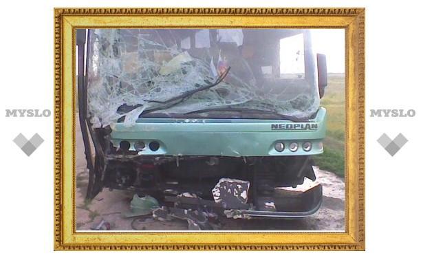 Автобус с тульскими туристами разбился по пути в Анапу