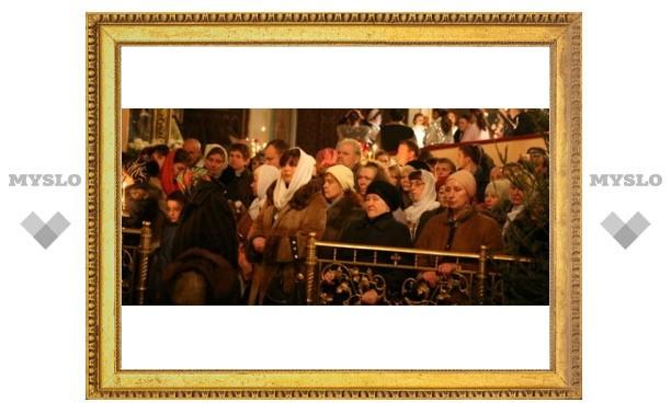 В Туле отпраздновали Рождество