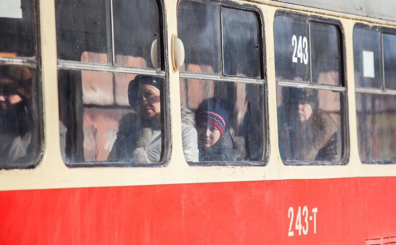 10 апреля в Советском округе Тулы ограничат остановку транспорта, а трамвай изменит маршрут