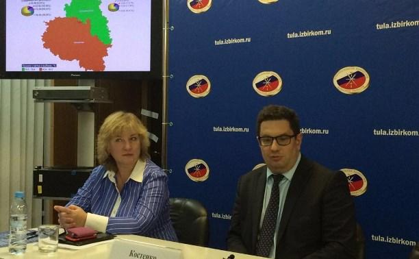 Сергей Костенко: На выборы в Тульской области пришла половина избирателей
