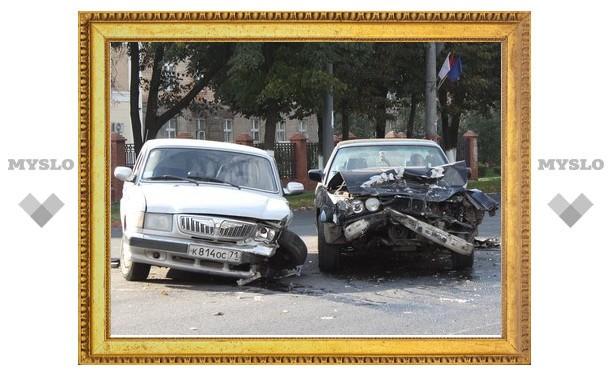 «Волга» решила не уступать дорогу BMW