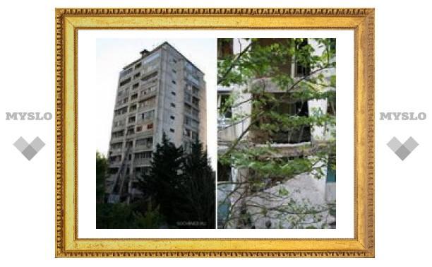 Взрыв в 12-этажном жилом доме в Сочи