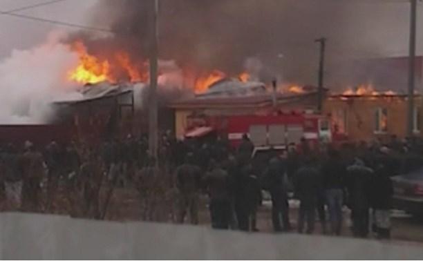 Жители Плеханово предполагают, что пожар произошел из-за печи-буржуйки