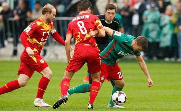 Тульский «Арсенал» обыграл московский «Локомотив» со счётом 1:0