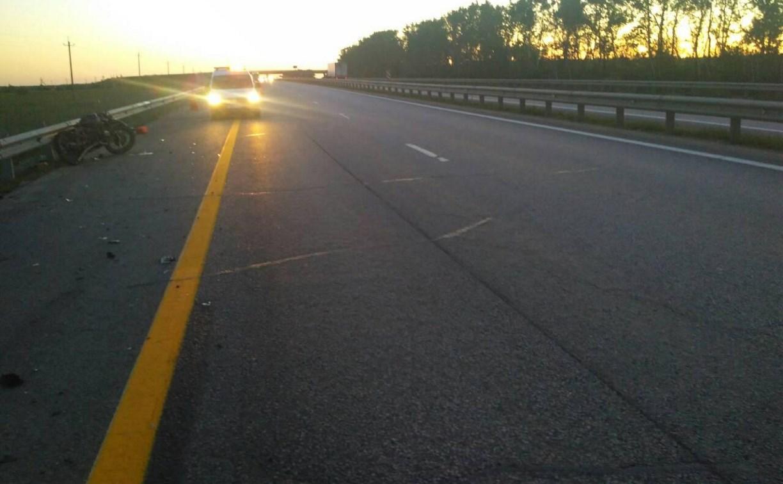 На трассе М-4 «Дон» разбился 17-летний мотоциклист
