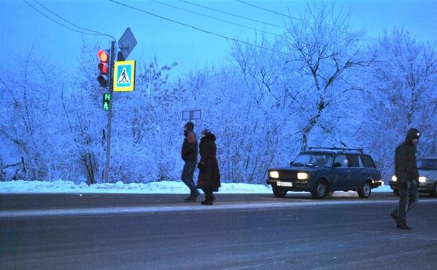 На Щекинском шоссе установили светофор