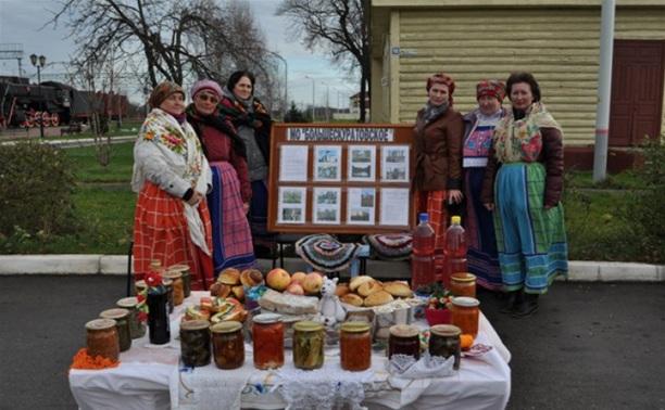 В Чернском районе отпраздновали юбилей музея железнодорожной станции