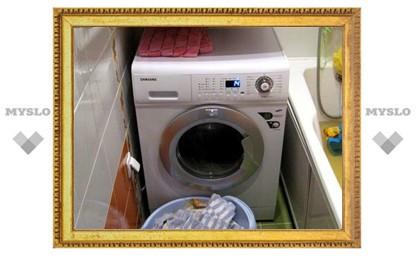 Туляк ночью лишился стиральной машины