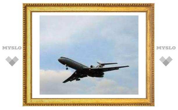 Во Владивостоке аварийно приземлился Ту-154