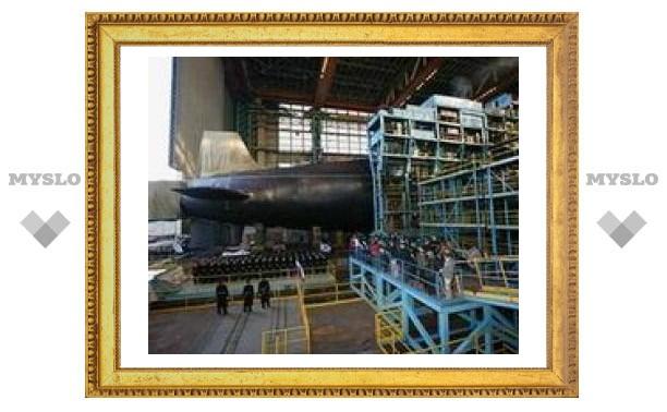 В России спущена на воду головная стратегическая атомная подлодка