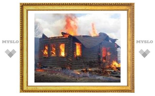 За выходные в Тульской области сгорели четыре человека