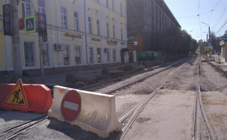 На ул. Ф. Энгельса в Туле на сутки ограничат движение транспорта