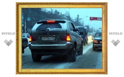 Туляки сфотографировали водителя-хама