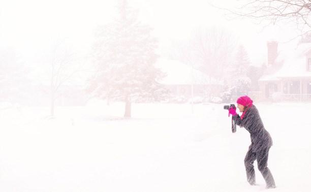 23 февраля в Туле ветрено и мокрый снег