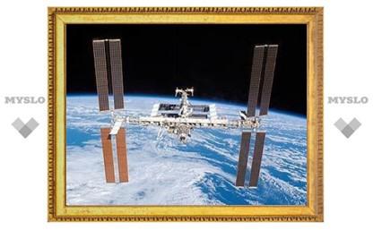 Высоту орбиты МКС подняли на один километр