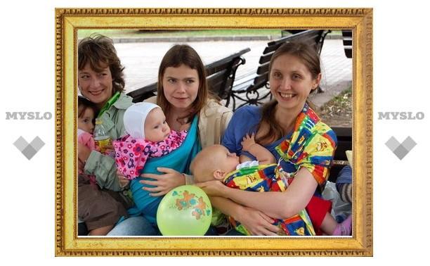 В Новомосковске стартует конкурс для кормящих мам