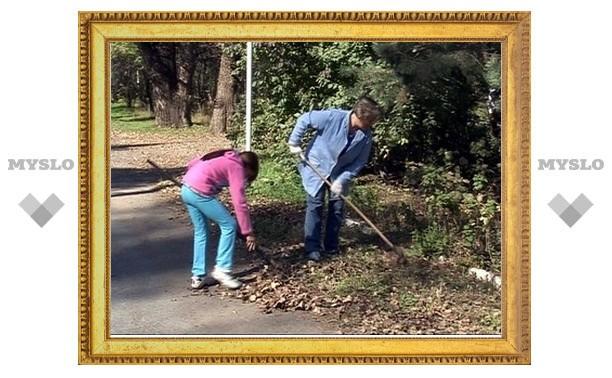 Современные тимуровцы помогают пенсионерам Заокского района