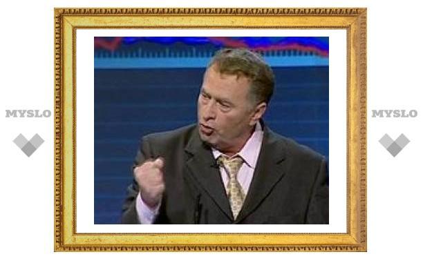 Жириновский на записи теледебатов избил представителя кандидата Богданова