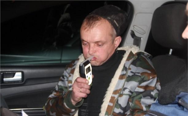 В Белёве за пьяным водителем гнались три экипажа ДПС
