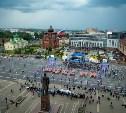 Тула отметила День России флешмобом