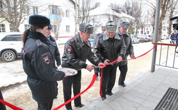 В Щекинском районе открылось новое здание МРЭО ГИБДД