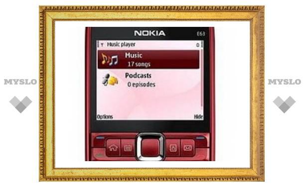 Nokia анонсирует выход смартфона Nokia E63 в США