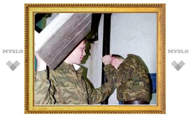 В Туле офицер избил своих солдат
