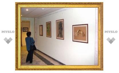 В Туле открылась выставка художника Захарова