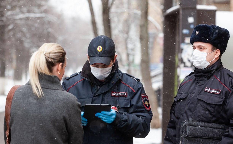 Полицейские проверяют, как туляки соблюдают ограничения карантина и самоизоляции – репортаж