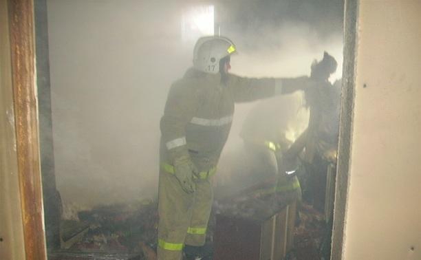 В Алексине при пожаре погиб человек