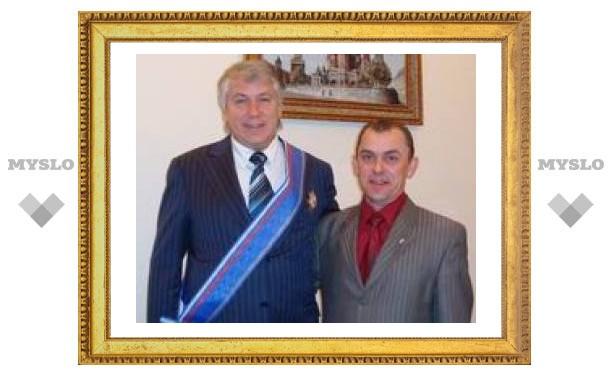 Ректор ТулГУ удостоен ордена