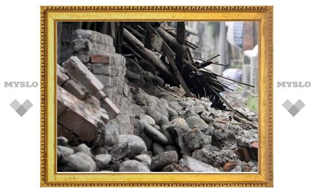 На жителя Новомосковска обрушилась стена строения