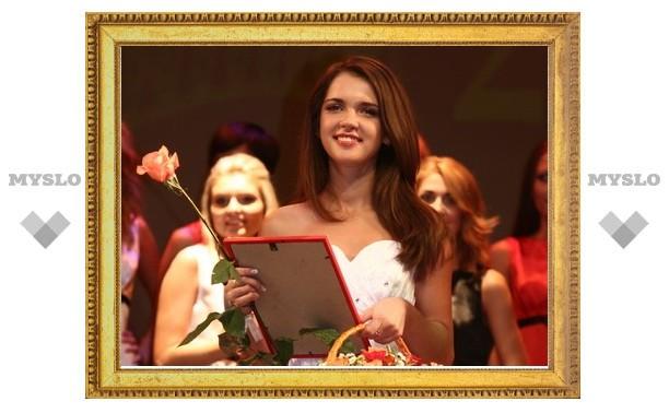 Тулячка завоевала титул «Мисс Шарм»
