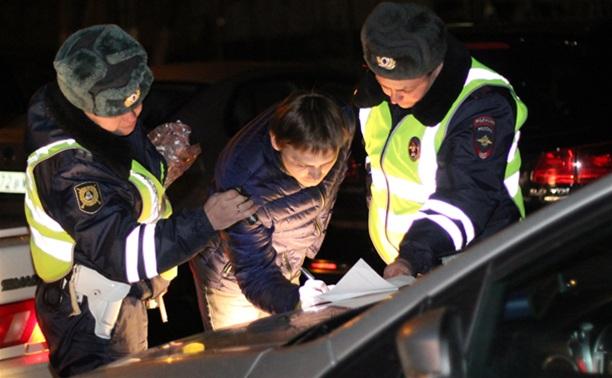 В рамках рейда «Нетрезвый водитель» поймали одного нарушителя