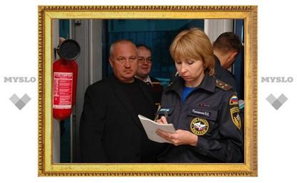 Прокуратура «наказала» тульских пожарных инспекторов