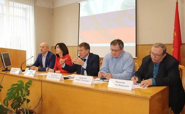 По инициативе активистов ОНФ в Плавске будет создан «зеленый щит»