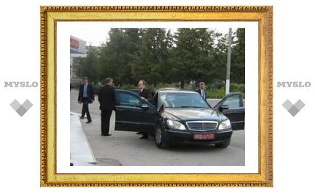 Немецкого посла встретили в Туле по-русски