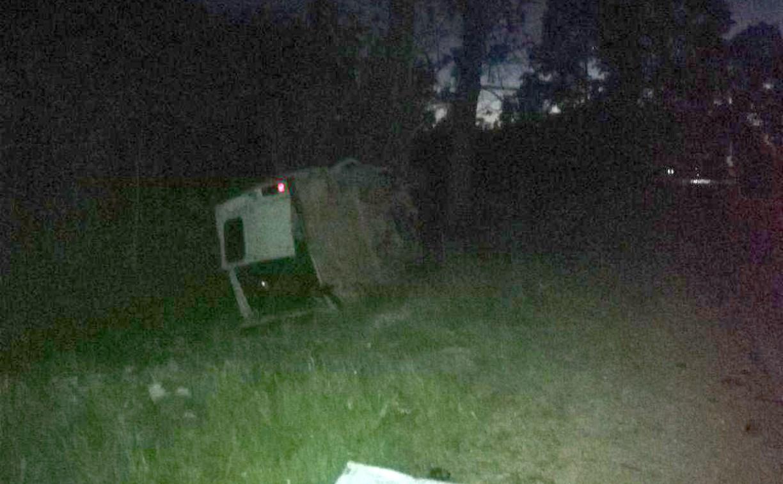 В Киреевском районе «бесправный» водитель устроил ДТП