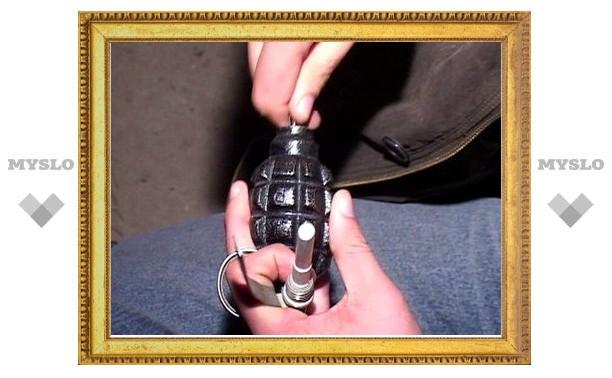 Угрозы взрыва на месте обнаружения гранаты нет