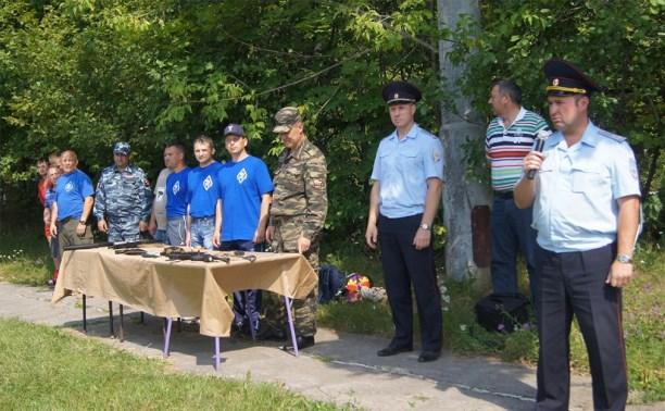 Тульские полицейские провели для детей «Зарядку со стражем порядка»