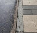 Туляк пожаловался на некачественный ремонт тротуара на проспекте Ленина