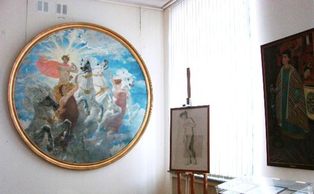 В Тульский художественный музей вернулись картины Серова