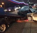В аварии на Пролетарском мосту пострадал полуторамесячный ребёнок