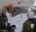 На пожаре в Тульской области погибли два человека