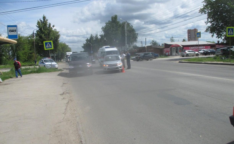 В Туле на Одоевском шоссе на пешеходном переходе сбили мужчину