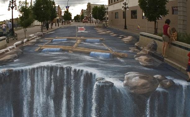 Туляки примут участие в создании 3D-граффити на площади Ленина